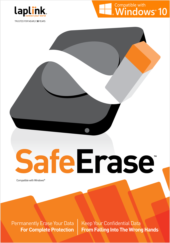 Software : Laplink SafeErase 8 - 64 bit [Download]