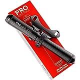 PRO BIKE TOOL Mini Bike Pump Premium Edition - Fits Presta and Schrader valves - High Pressure PSI - Bicycle Tire Pump for Ro