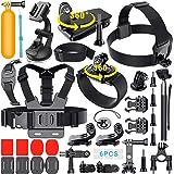 Erligpowht 36 en 1 accesorios para GoPro hero 5/4/3+/3/2/1 SJCAM SJ4000 SJ5000 SJ6000 Lightdow/Xiaomi Yi/WiMiUS/DBPOWER / Camera APEMAN/Camera Campark