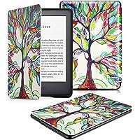 OMOTON Funda Nuevo Kindle 2019 Carcasa Nuevo Kindle 2019 Funda, PU, Sueño Automático, Cierre Magnético, Color Árbol de Amor, Solo para All-New Kindle, 2019 Released