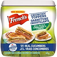 French's, Crunchy Toppers, Pickles, 140g