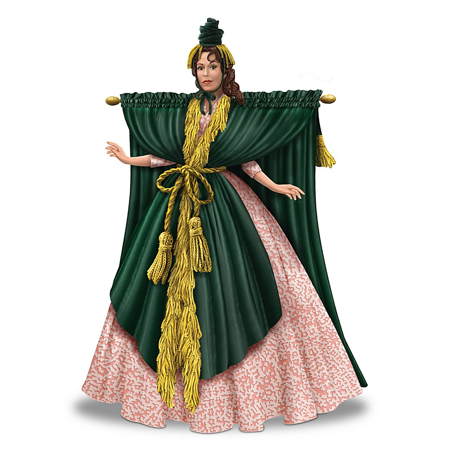 Carol Burnett Curtain Dress Costume
