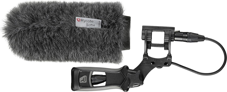 Rycote 033352 18cm 19-22mm Standard Hole Classic-Softie Microphone Windshield Kit