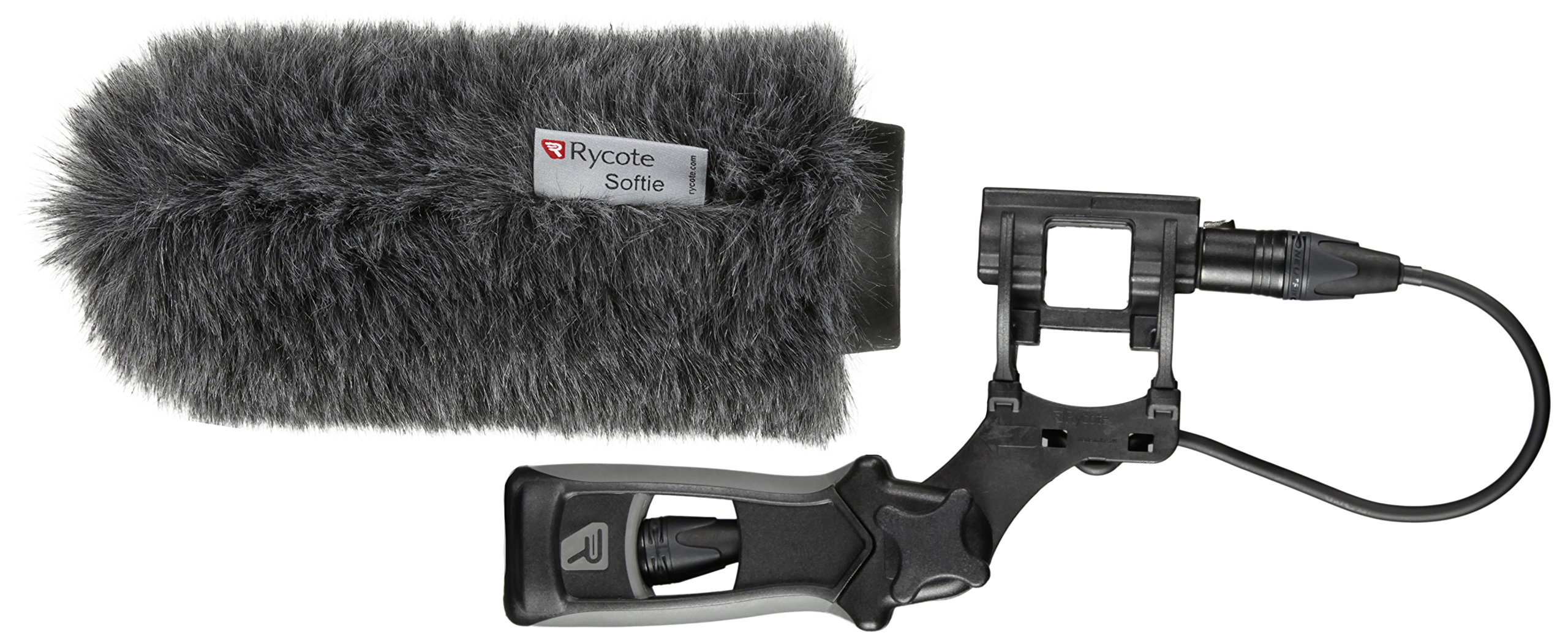 Rycote Softie Windshield with 18cm Large Hole with Mount and Pistol Grip Handle