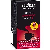 Lavazza Espresso Armonico Coffee Capsules Compatible with Nespresso, Pack of 30 Capsules