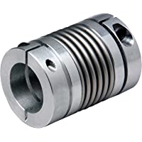 Steel bellow coupling MBL MDmax = 1Nm both sides bore 6mm hub diameter 18,2mm long version overall length 45,2mm