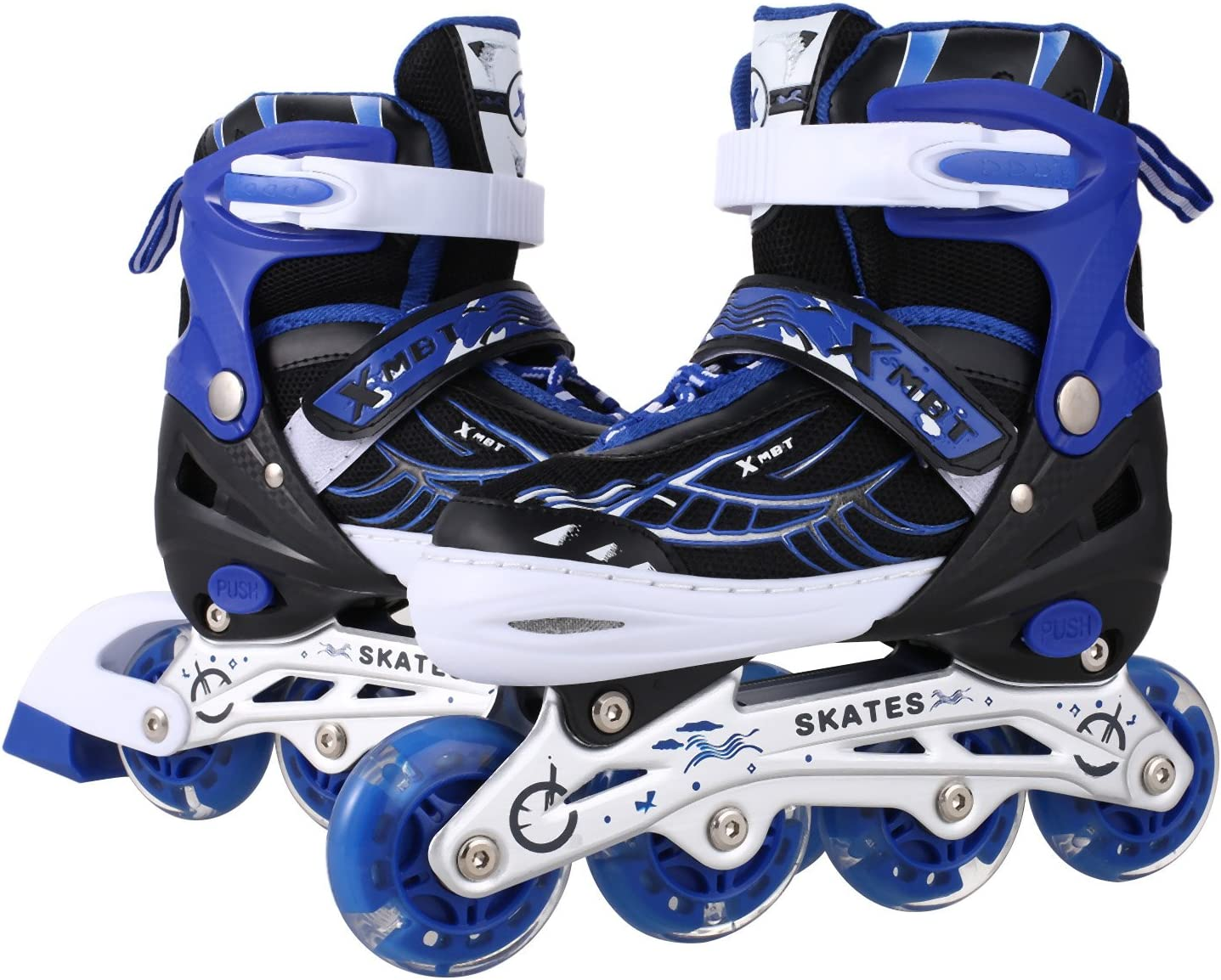 OUTCAMER Inline Skates with Light Up Wheels - 1