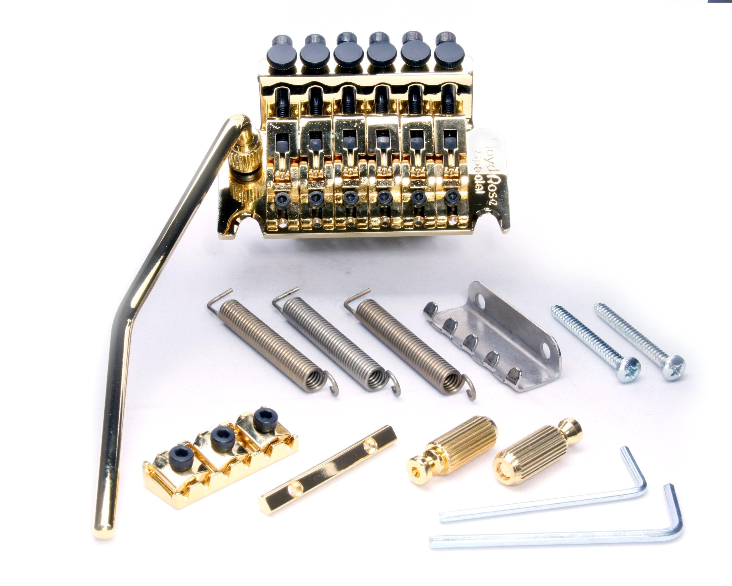 Floyd Rose Special Series Tremolo Bridge w/ R3G Nut Gold