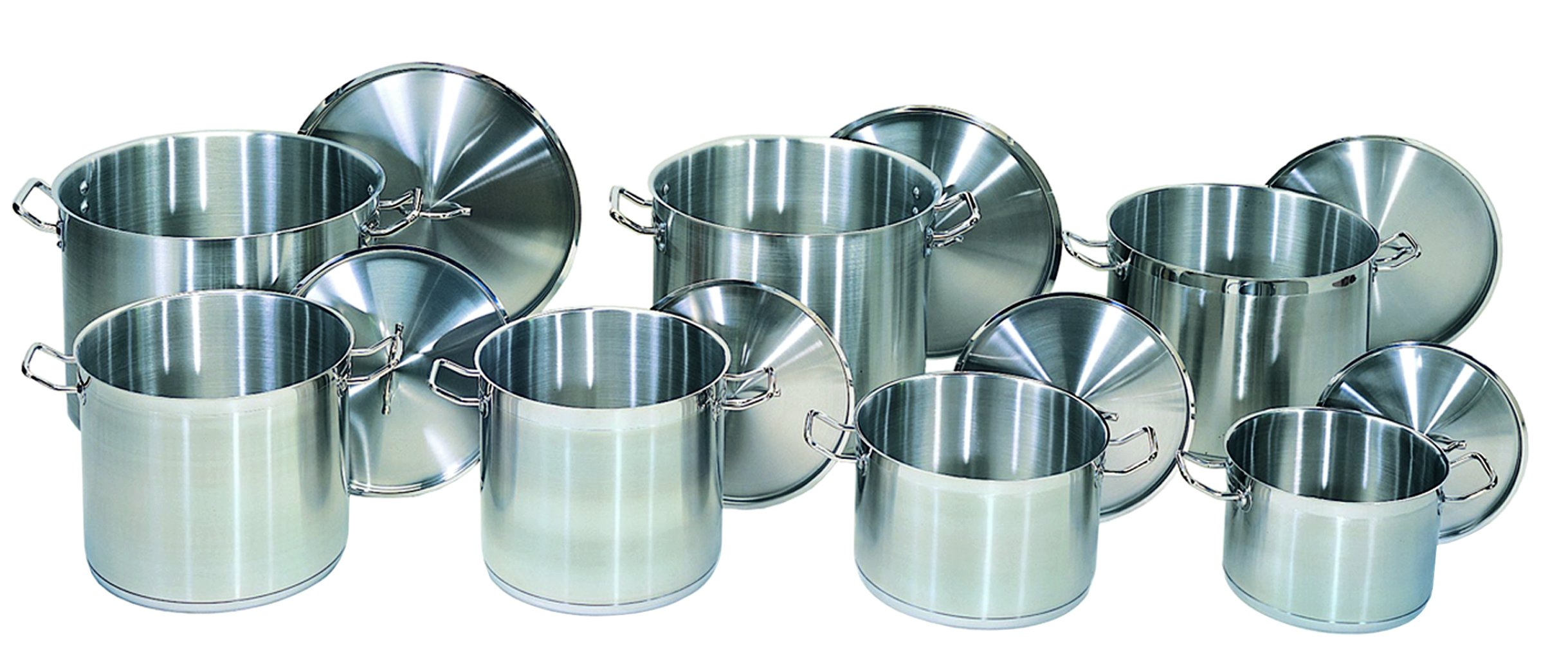 Update International (SPS-40) 40 Qt Induction Ready Stainless Steel Stock Pot w/Cover by Update International (Image #4)