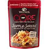 Wellness CORE Simply Shreds Natural Grain Free Wet Dog Food Mixer or Meal Topper