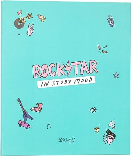 comprar Mr; Wonderful Woa09072Em Carpeta Archivadora Rockstar In Study Mood
