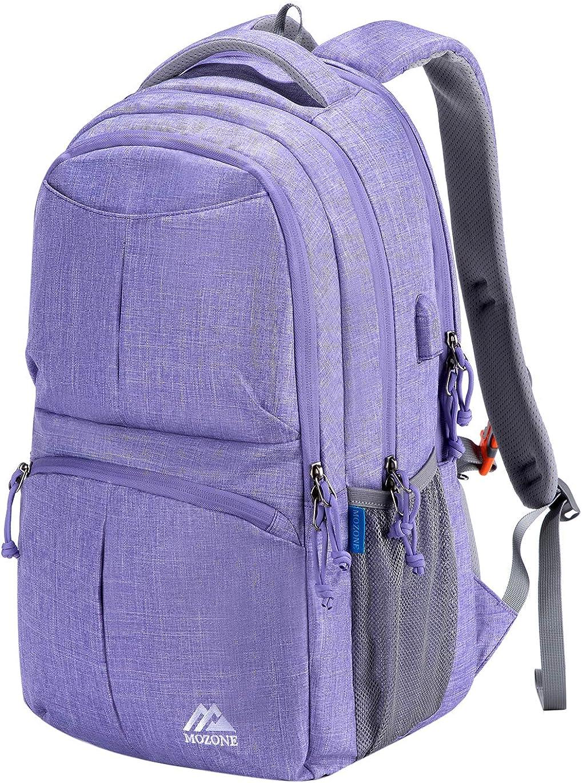 Mozone Travel Laptop Backpack,Durable Waterproof College Bckpack for Women/Men