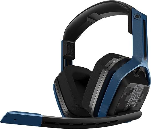 ASTRO Gaming A20 Auriculares inalámbricos Call of Duty, Astro Audio, Dolby Atmos, 15hrs de batería, Construcción Resistente, 5.8 GHz inalámbricos, para PS5, PS4, PC, Mac, Switch - Negro/Azul Marino: Amazon.es: Informática