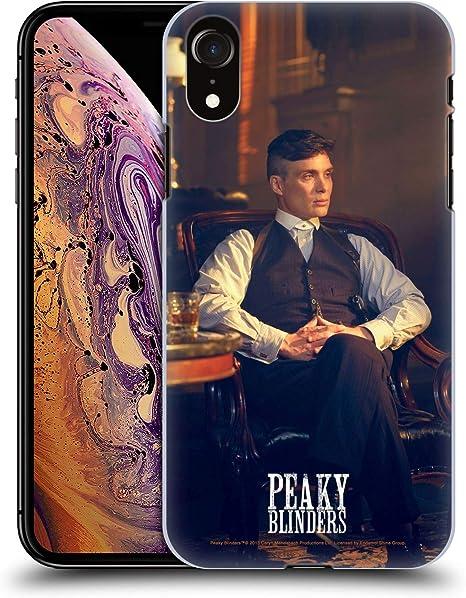 Head Case Designs sous Licence Officielle Peaky Blinders Thomas Shelby Bureau Charactère Coque Dure pour l'arrière Compatible avec Apple iPhone XR