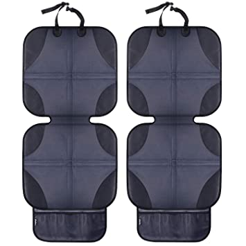 Ohuhu 2 Pack Baby Child Car Auto Carseat Seat Protector Cover Dog Mat Vehicle