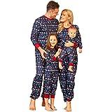 Matching Family Pajamas Christmas Sets with Dog, Matching Sets Christmas PJs for Family Organic Cotton Pajamas