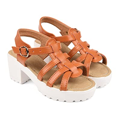 d0fba377039d Bare Soles Trendy Sandals - WS1b-41  Buy Online at Low Prices in India -  Amazon.in