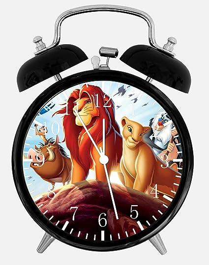 Disney rey León escritorio alarma reloj 3.75