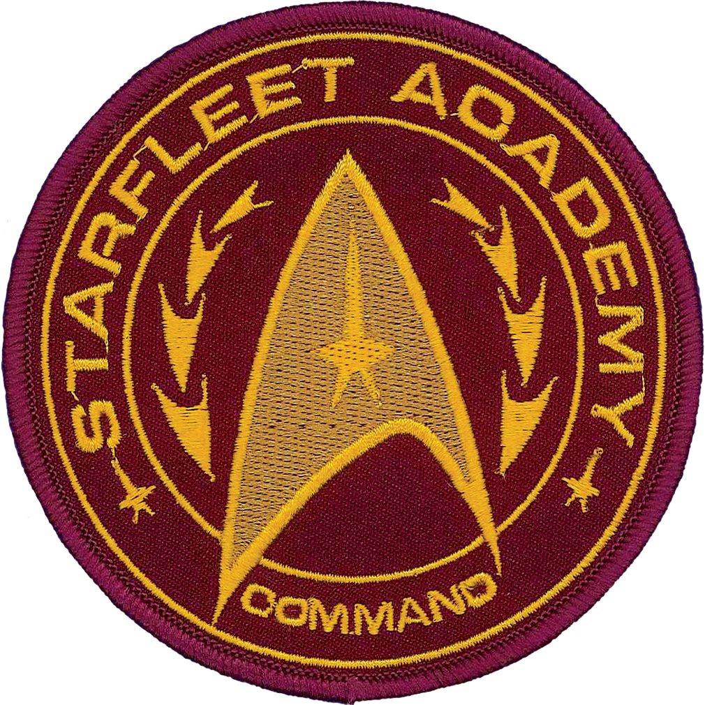 Star Trek Academy Iron On Patch 61015ST