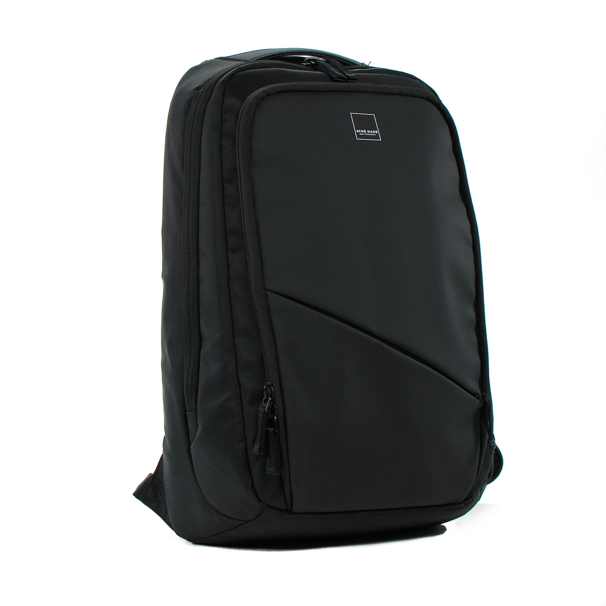 Acme Made - Union Street Commuter Backpack (Matte Black) (AM20311)