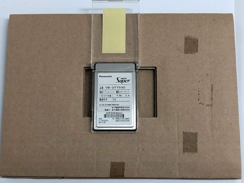 パナソニック (panasonic) VB-D7750D インテリジェント コミュニケーション システム 高級CPUユニット 運用メモリカード(40P~288P用)   B07S8K4SKN