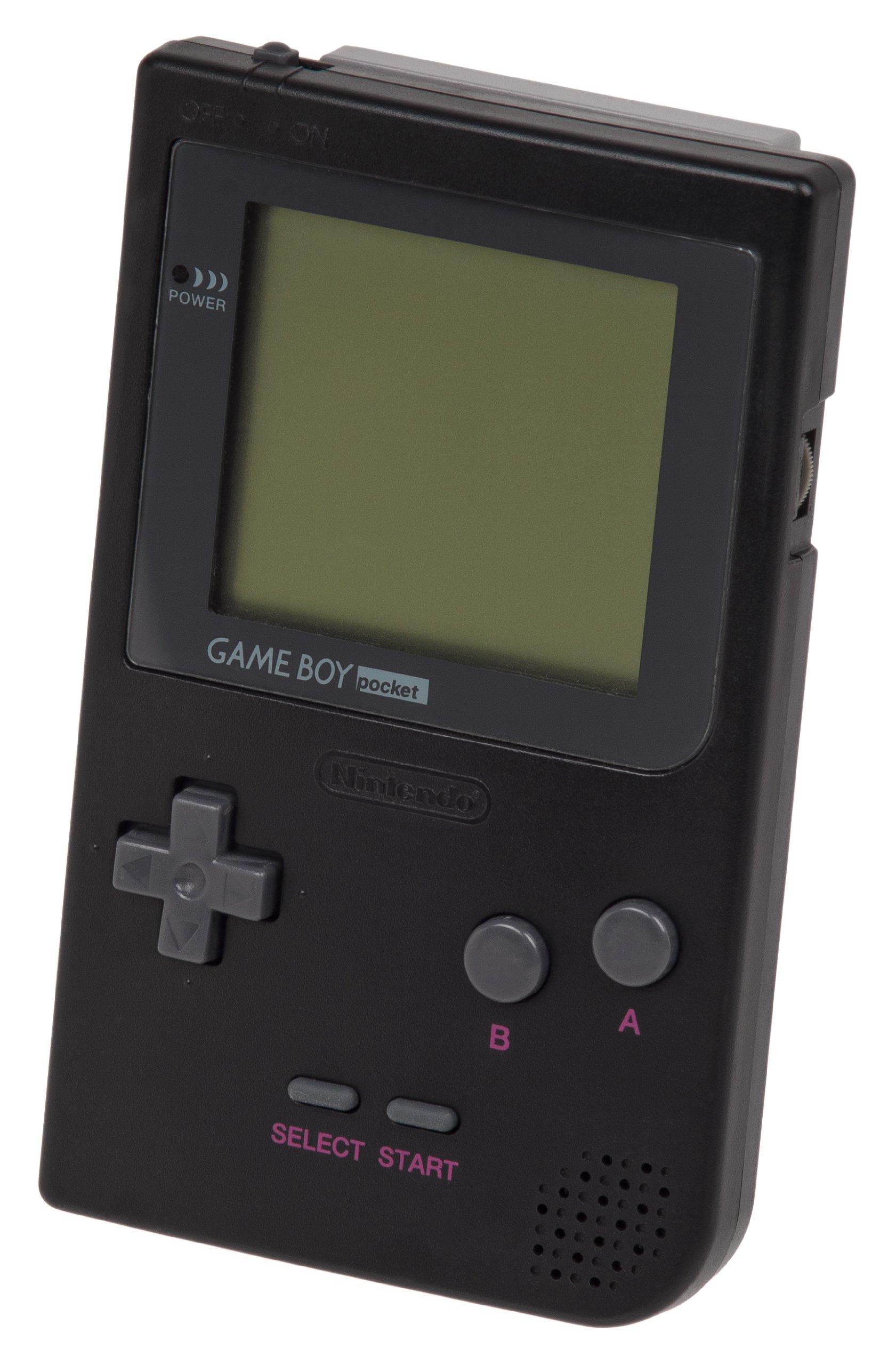 Game Boy Pocket System, Black