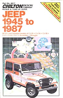 Jeep cj 4986 haynes repair manuals larry warren john h haynes chiltons repair tune up guide jeep 1945 to 1987 all us and canadian fandeluxe Choice Image