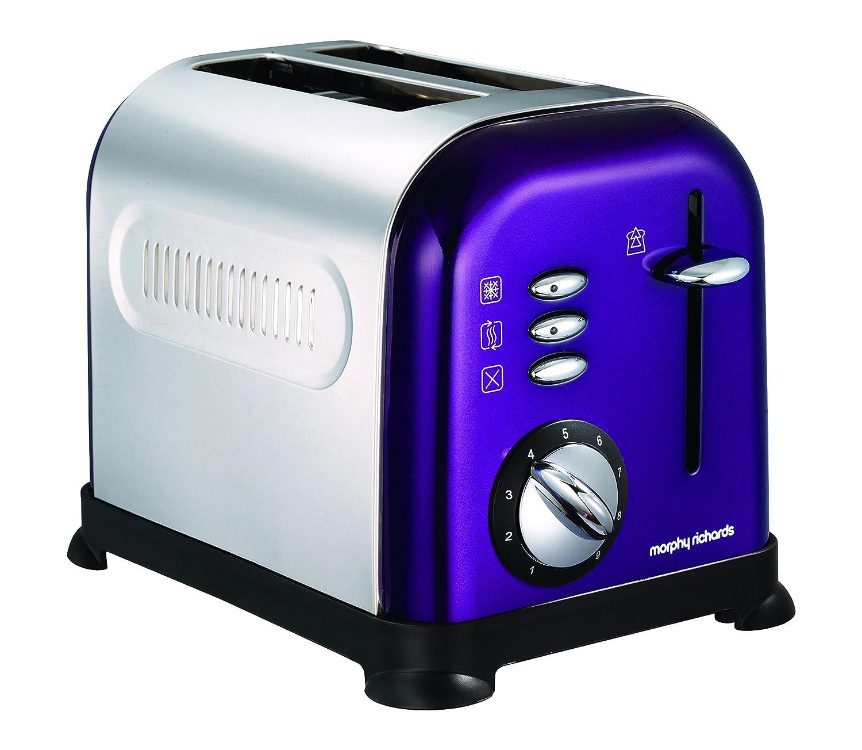 Amazon.de: Morphy Richards 44747 Toaster 2 Scheiben, Violett