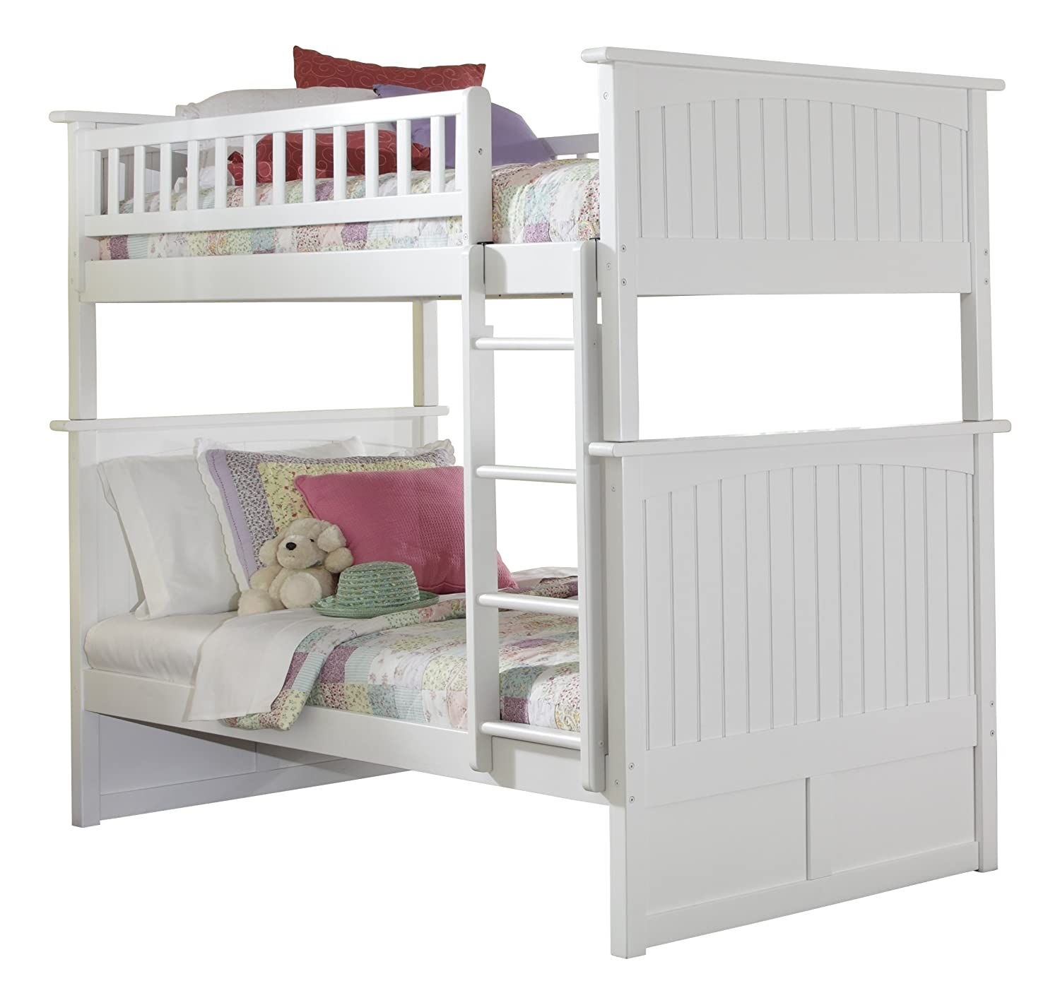 Amazon Nantucket Bunk Bed Twin Over Twin Caramel Latte