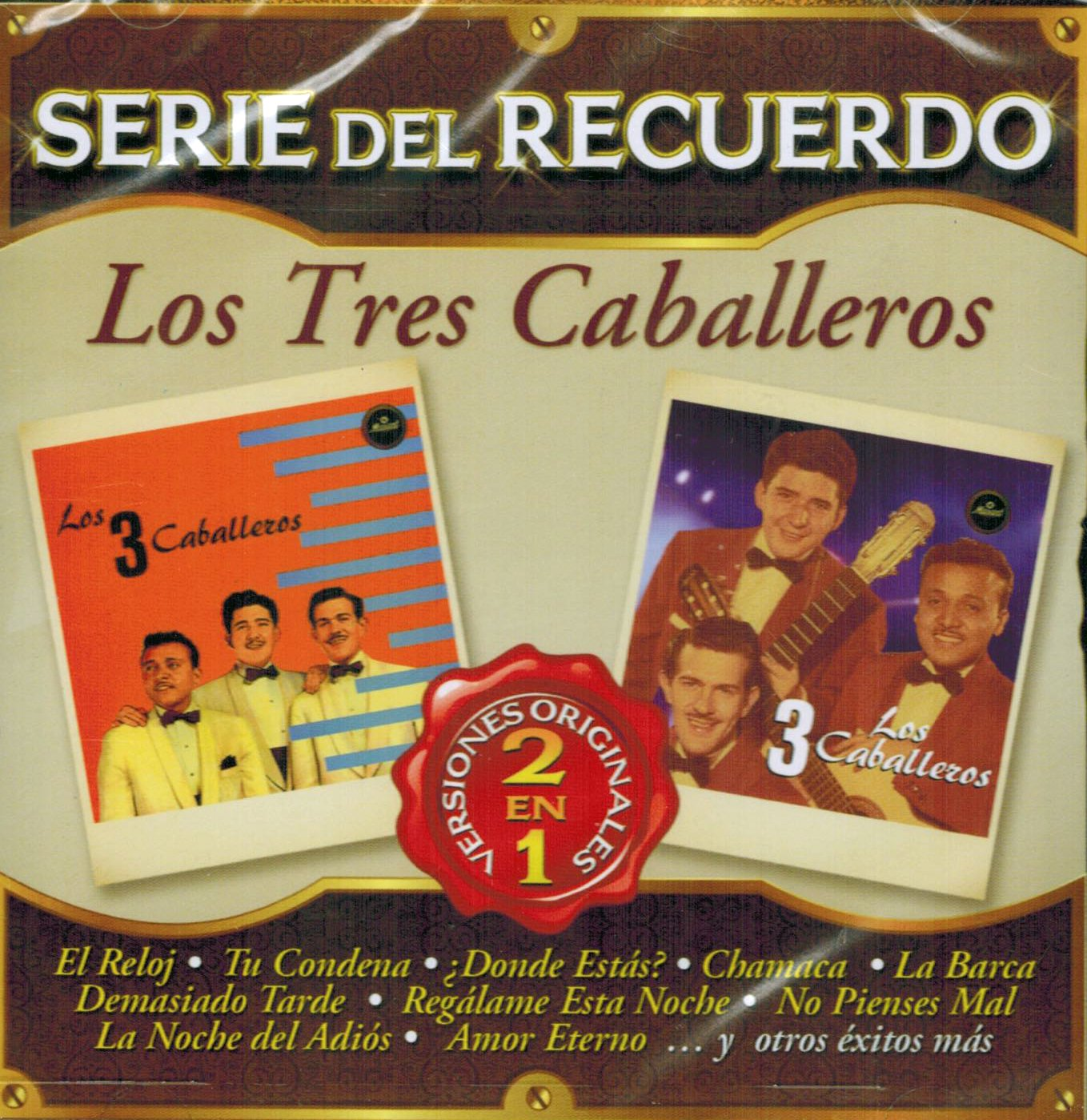 Los Tres Caballeros (Serie del Recuerdo 2 en 1 Sony-442621) CD, Limited Collectors Edition, Import, Original recording remastered