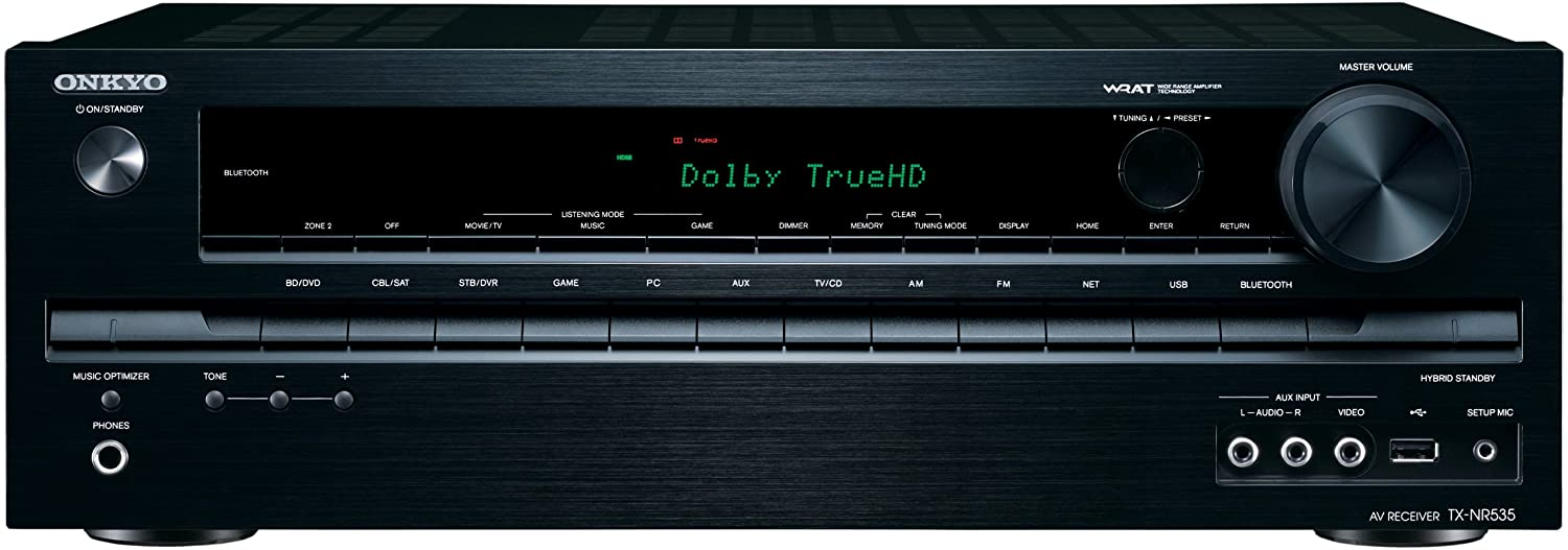Onkyo TX-NR535 5.2-Channel Network A/V Receiver (Discontinued by Manufacturer)