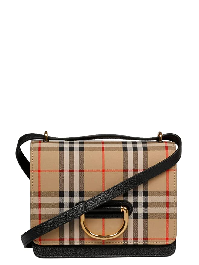 SHOULDER BAG BURBERRY, LEATHER 100%, color BEIGE