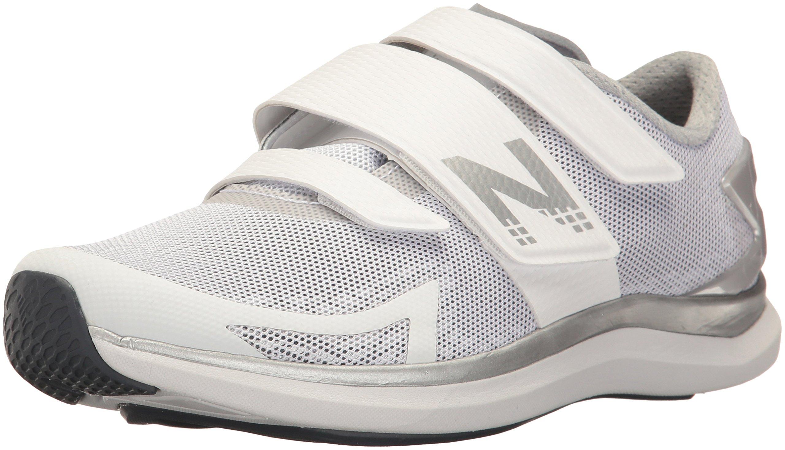 New Balance Women's 09v1 Training Shoe, White/Grey, 12 B US