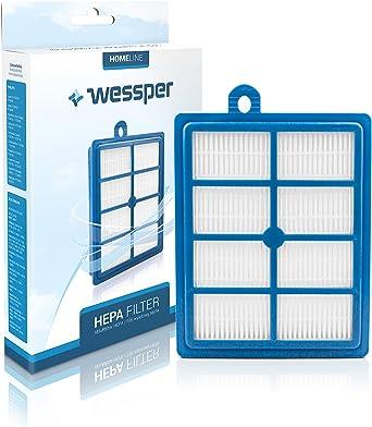 Wessper® Filtro de HEPA para aspiradoras AEG ELECTROLUX Airmax/Boldio/ErgoSpace/Mondo/Plus/Oxygen/Praxio/Powersystem Philips Expression/Impact/Jewel/Performer (EFH13W, EFH12W, 9002564053): Amazon.es: Grandes electrodomésticos