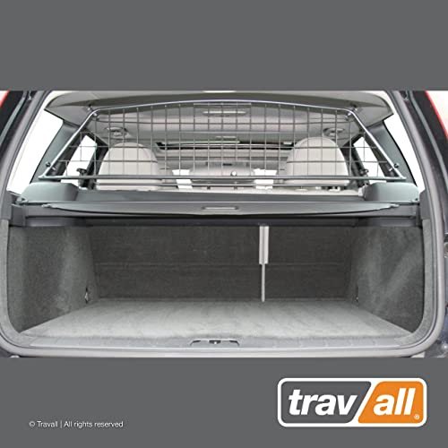 Travall Guard Compatible with Volvo V50 Wagon 2004-2012 TDG1230 – Rattle-Free Steel Vehicle Specific Pet Barrier