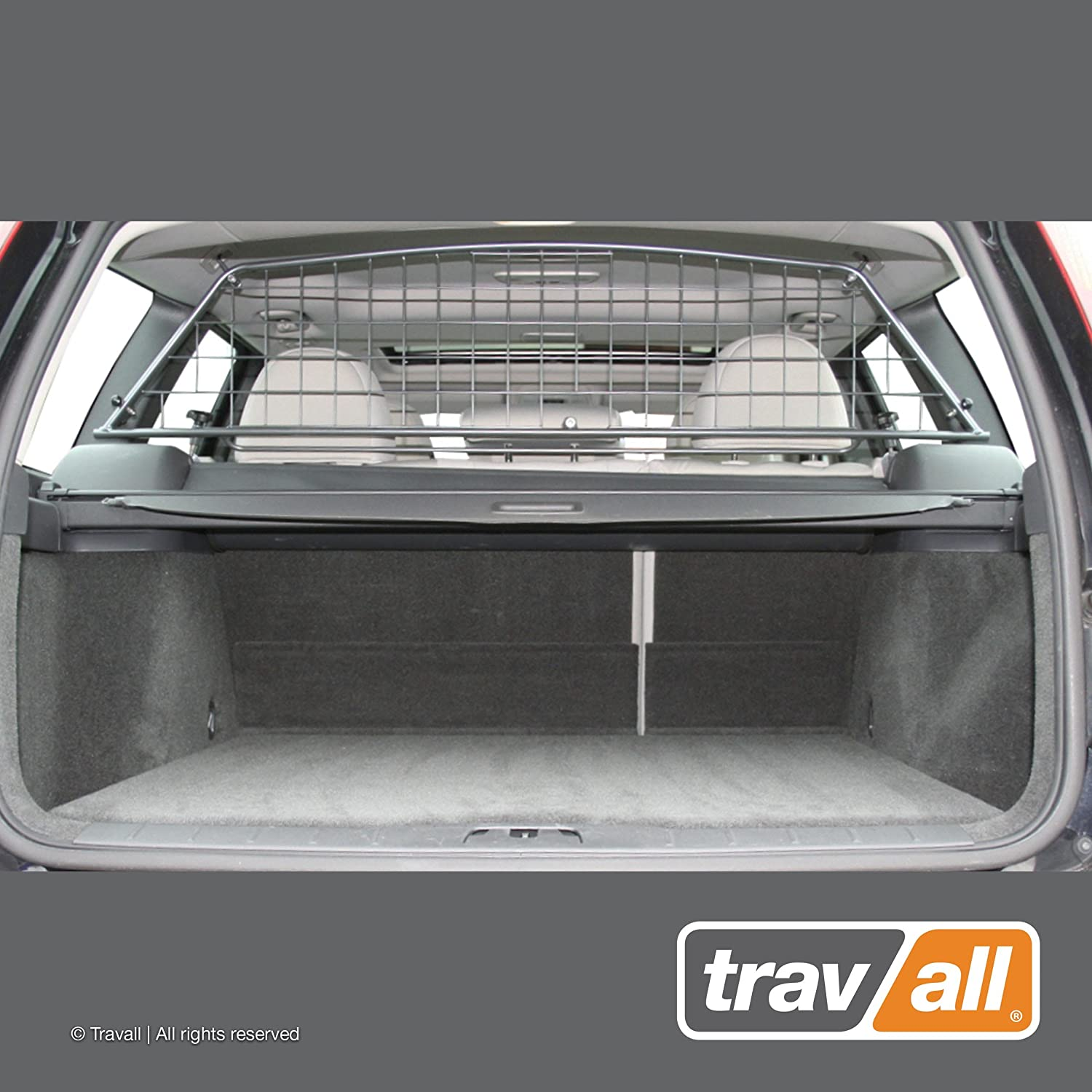 Travall Guard Compatible with Volvo V50 Wagon 2004-2012 TDG1230 – Rattle-Free Steel Pet Barrier