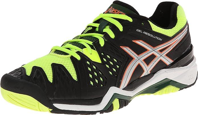 7.ASICS Men's GEL-Resolution 6 Tennis Shoe