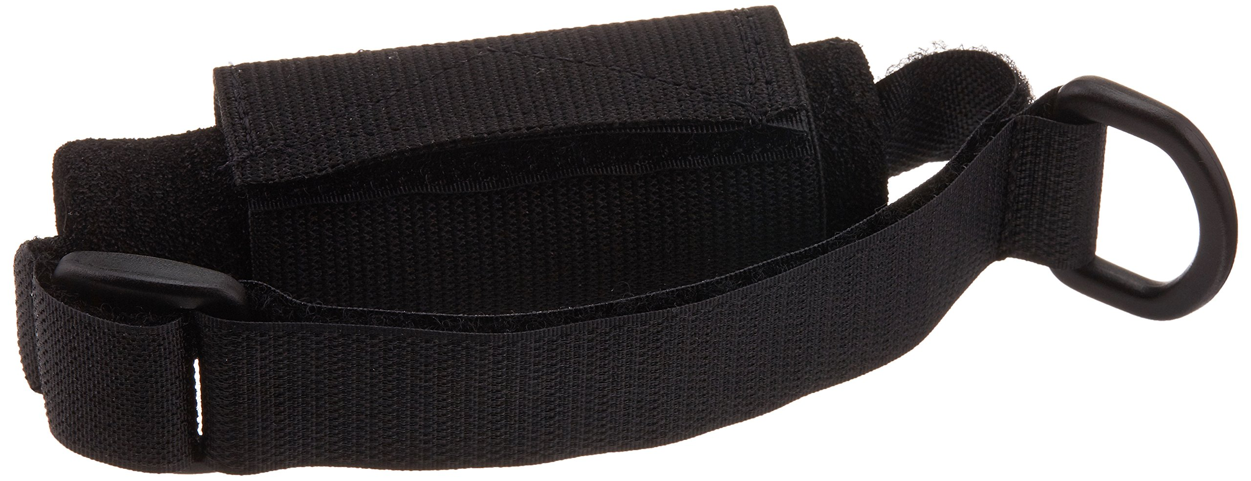 Sammons Preston Universal Holder Strap for Elderly, Hand Cuff with Pocket for Holding Cutlery, Pens, Toothbrushes, Daily Living Tools, Adjustable Velcro Implement Holder for Weak Grip and Arthritis