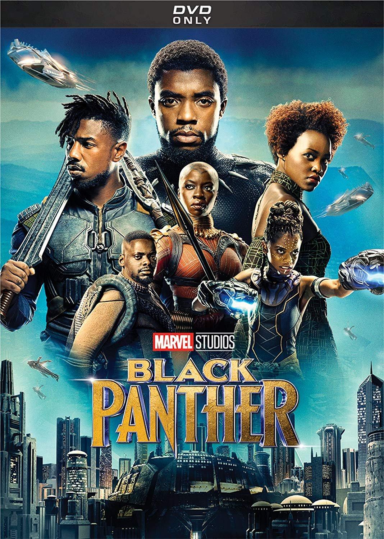 Black Panther (DVD 2018) Action Marvel