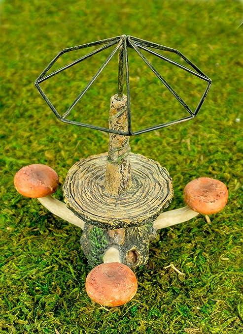 Wholesale Fairy Gardens Fairy Toadstool Table With Umbrella Trellis
