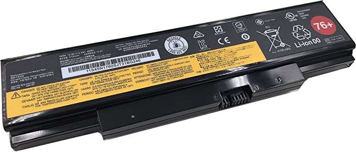 Aluo 45N1761 10.8V 48WH New Laptop Battery for Lenovo ThinkPad E560 E555 E550 E550C E565 Series 45N1758 45N1760 45N1762 45N1763 45N8961 45NE560 45NYU63 45R6758 76+
