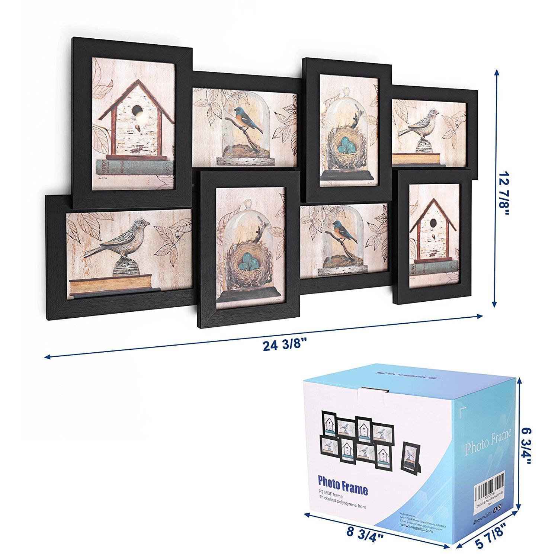 Schön Bilderrahmen 3 4x6 öffnungen Zeitgenössisch - Rahmen Ideen ...