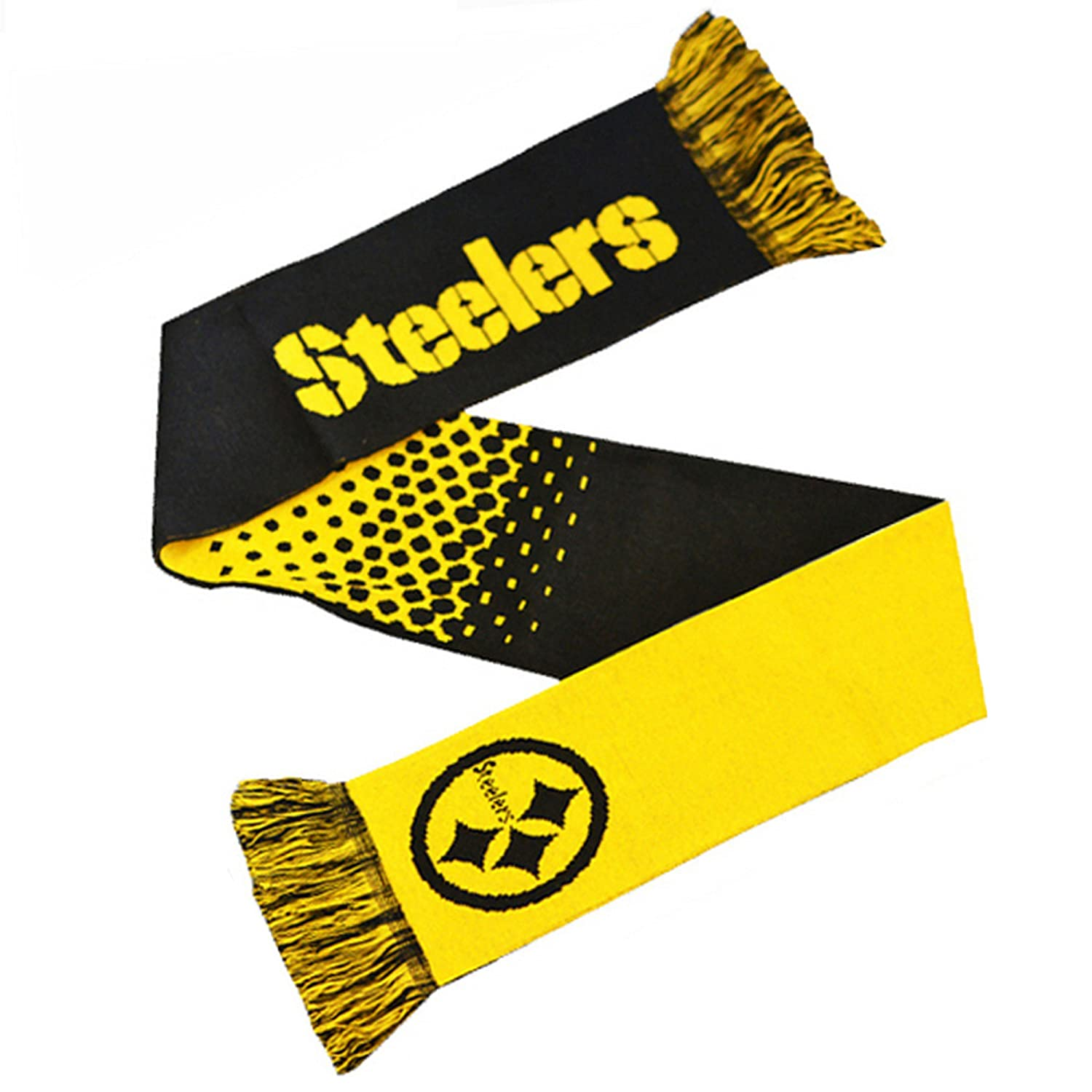 NFL Schal Scarf PITTSBURGH STEELERS Fade Football Fanschal Forever ...