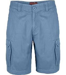 cc46b77003ca Herren Cargo Combat Shorts 100% Baumwolle Bermuda Kurz Hose Regular Fit