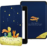 Ayotu Water-Safe Case for Kindle Paperwhite 2018 - PU Leather Smart Cover with Auto Wake/Sleep - Fits Amazon All-New Kindle Paperwhite Leather Cover (10th Generation-2018),K10 The Boy and Fox