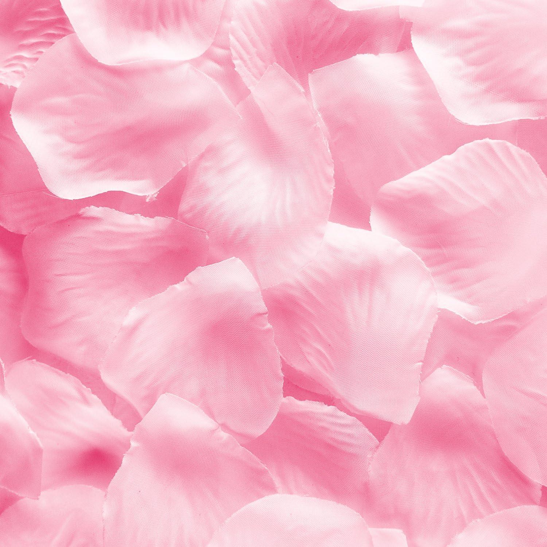 1000 Pieces Blue Super Z Outlet Silk Fabric Flower Mini Rose Petals for Weddings
