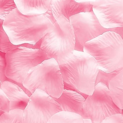 Amazon silk fabric flower mini rose petals for weddings 1000 silk fabric flower mini rose petals for weddings 1000 pieces pink mightylinksfo