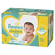 Pampers Swaddlers Diapers Size 2 124 Count