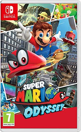 Super Mario Odyssey Nintendo Switch Amazon Es Videojuegos