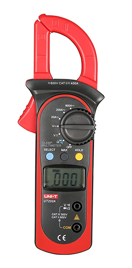 Uni-Ball T ut202 a corriente Corriente de medición Alicate Multímetro Digital de medición de